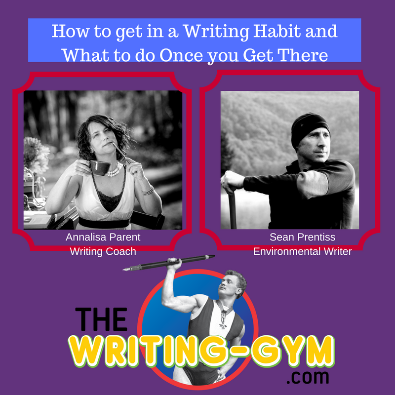 How to get in a Writing Habit, What to Do Once you Get There with Sean Prentiss