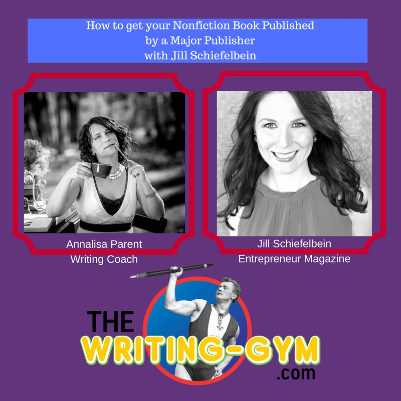 How to Get your Nonfiction Book Published with a Major Publisher with Jill Schiefelbein