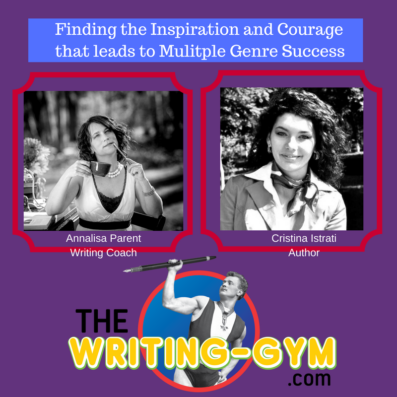 Writing Award-Winning Books in Multiple Genres with Cristina Istrati