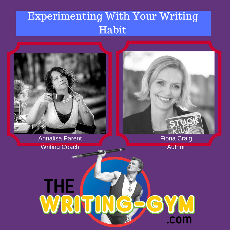 Experimenting With Your Writing Habit with Fiona Craig