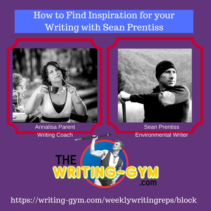 How to Find Inspiration for your Writing with Sean Prentiss