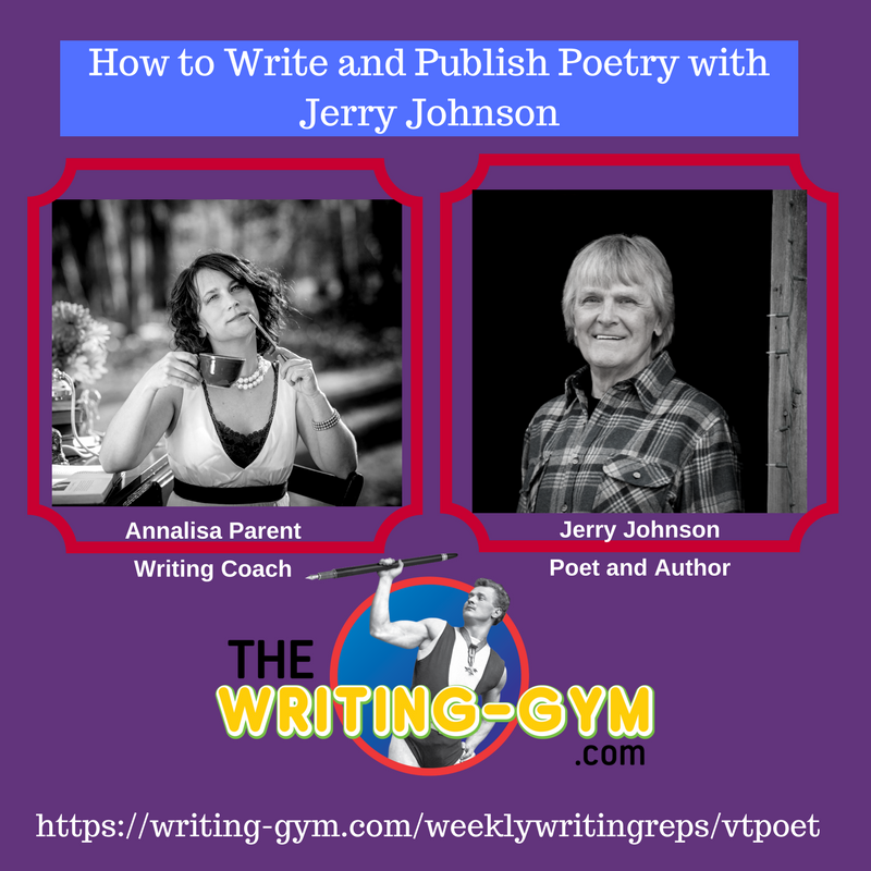 How to Write and Publish Poetry with Jerry Johnson
