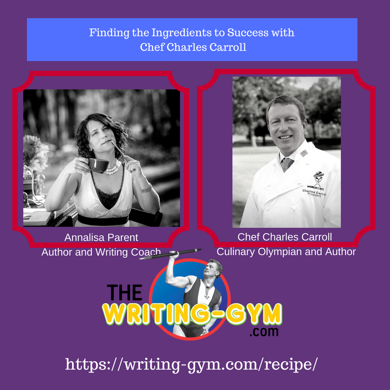 How to Write with Passion with Chef Charles Carroll