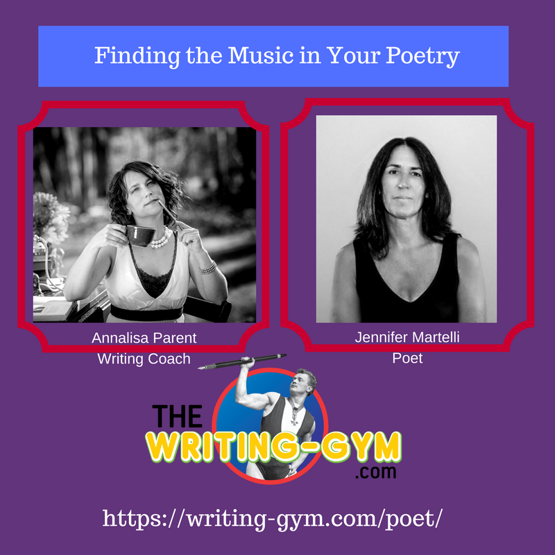 Finding the Music In Your Poetry with Jennifer Martelli