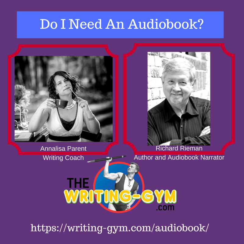 Do I Need an Audiobook? with Award-Wininng Narrator Richard Rieman